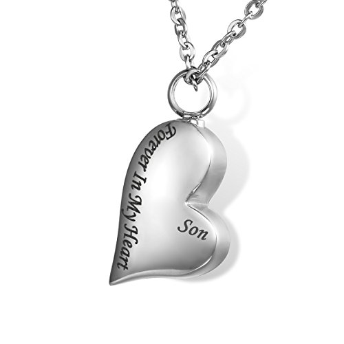 Forever My Heart Necklace Charms (HOUSWEETY