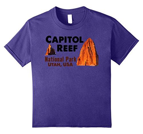 Price comparison product image Kids Capitol Reef National Park Travel Journey Explore Utah State 8 Purple