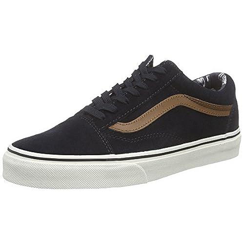 183ebb3e53 Vans Old Skool Skate Shoe - Men s (desert Tribe) Suede Blue Graphite ...