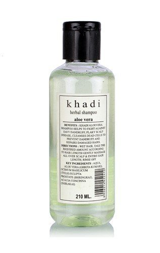 Khadi Herbal Aloevera Shampoo - 210 ml