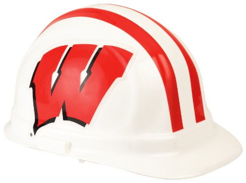 (NCAA Wisconsin Badgers Hard Hat, One Size)