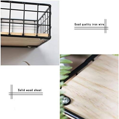 棚板と棚、シンプルな現代の鉄の壁の棚板の棚板の居間の寝室の壁の壁グリッドの装飾のフレームをぶら下げ , black big
