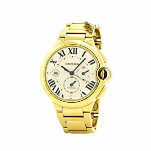Cartier Ballon Bleu swiss-automatic mens Watch W6920008 (Certified Pre-owned)