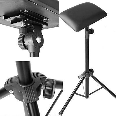 Ardisle Fully Adjustable Black TATTOO Arm Leg Rest studio chair bed Portable Stool