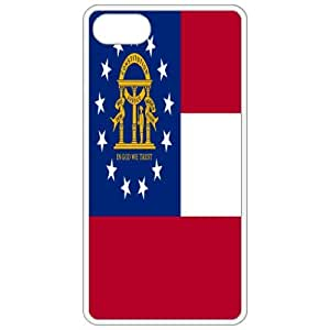 Georgia GA State Flag White - Apple iphone 5s - iphone 5s Cell Phone Case - Cover