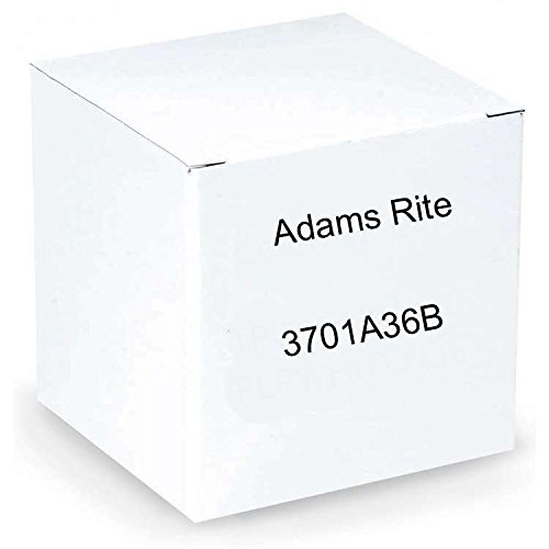 Adams Rite 3701A-36B Rim Exit Device For Wood & Hollow Metal Doors w/ Battery Operated Alarm by Adams Rite ASSA ABLOY