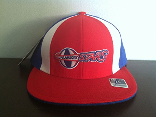 NEW RARE REEBOK NBA LOS ANGELES STARS ABA BASKETBALL FITTED HAT-CAP- SIZE 7 1/4