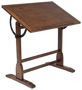 Studio Designs 36 X 24-Inch Vintage Drafting Table, Rustic Oak