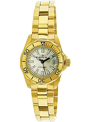 (Invicta Women's 7065 Signature Collection Pro Diver Gold-Tone Watch)