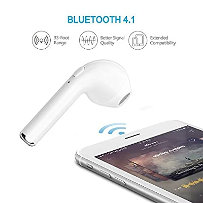 Bluetooth Right Earbud , Wireless Headset In-Ear headphone Earpiece Earphone for apple iPhone 7 7 plus 6s 6s plus and Samsung Galaxy S7 S8 and Android Phones
