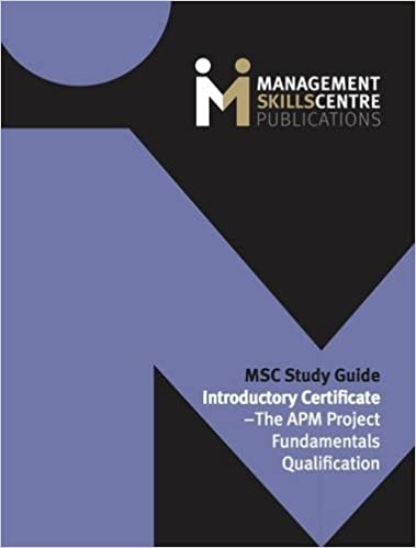Msc study guide introductory certificate the apm project msc study guide introductory certificate the apm project fundamentals qualification amazon andrew scott 9780992884123 books yadclub Choice Image