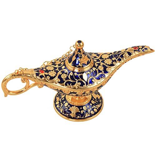 kilofly Aladdin Costume Prop Vintage Table Decor Large Decoration Genie -