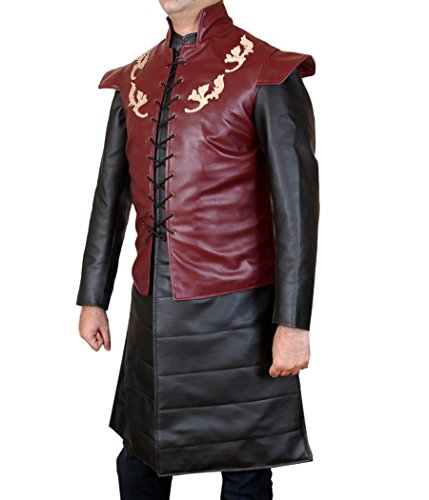 Of Leather Two Costume Thrones Genuine Men's Game Tyrion Multicoloured F amp;H Piece Lannister USBwqnggt