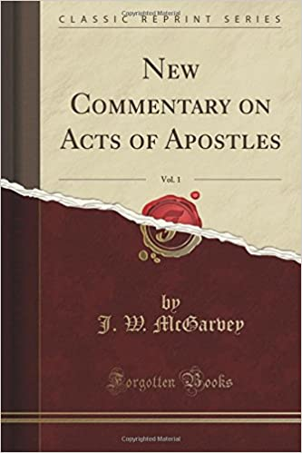 Book New Commentary on Acts of Apostles, Vol. 1 (Classic Reprint)