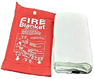 Fire Blanket If Clothing is on fire force victim to ground wrap in fire blanket