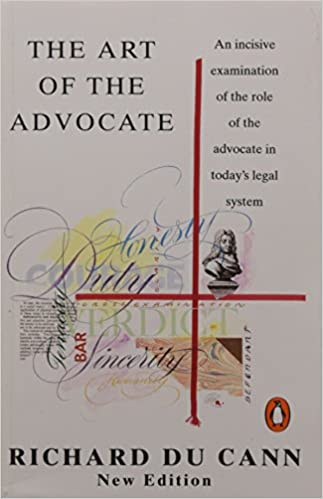 Book Art of the Advocate (Penguin Law)