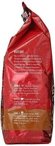 Eight O'Clock Whole Bean Coffee, Hazelnut, 33 Ounce