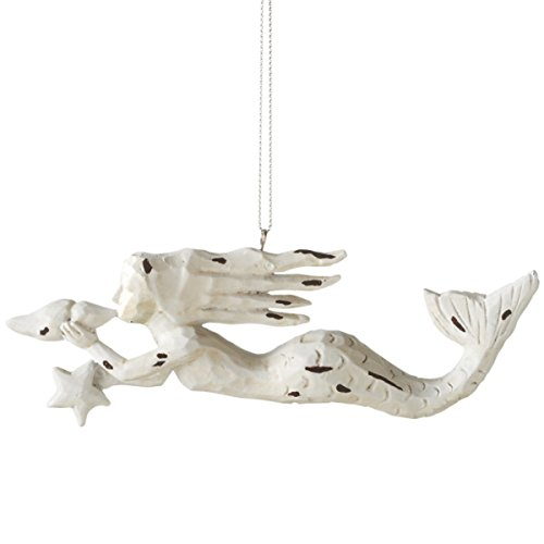 41O54PggeFL Amazing Mermaid Christmas Ornaments