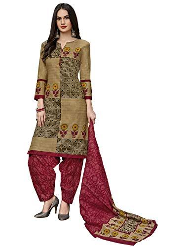 Jevi Prints Women's Cotton Straight Salwar Suit Set (SUIT_Khushi-5702)