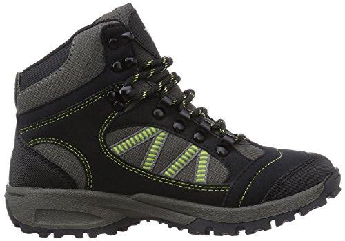Lico Boys 22007_Jungen High Rise Hiking Black (Schwarz/Grau/Gruen Schwarz/Grau/Gruen) jWhbYsCQ