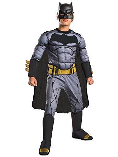 Rubie's Costume: Dawn of Justice Deluxe Muscle Chest Batman Costume, -
