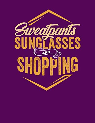 Sweatpants Sunglasses and Shopping: Simple Lined ()
