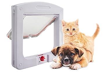 UPP® mascotas Tapa/Rueda libre 4 Vías Puerta/Gato Tapa/puerta con