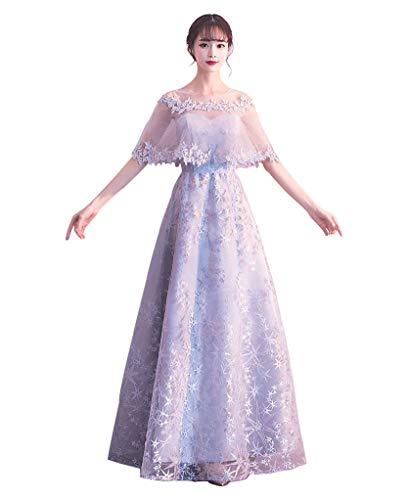 5b5cb5812c71e KINOUTA DRESS グレー ウェディングドレス 大人 ドレス リゾート ドレス ワンピースンロングドレス レース ワンピース ロング
