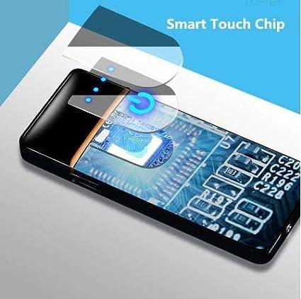 Peshkar Smart Induction USB Lighter Electronic Plasma Encendedor Windproof Durable Lighters Smoking Gadgets for Men