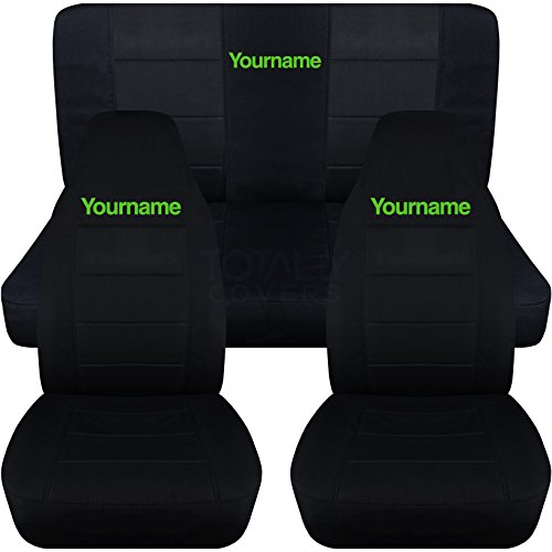 Compare Price To Custom Seat Covers With Your Name
