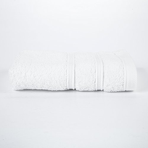 """HaoDuoYi 100% Cotton 16 Piece Washcloths 600GSM, Luxury, Soft,Spa and Hotel 13""""X13"""" White by HaoDuoYi (Image #2)"""