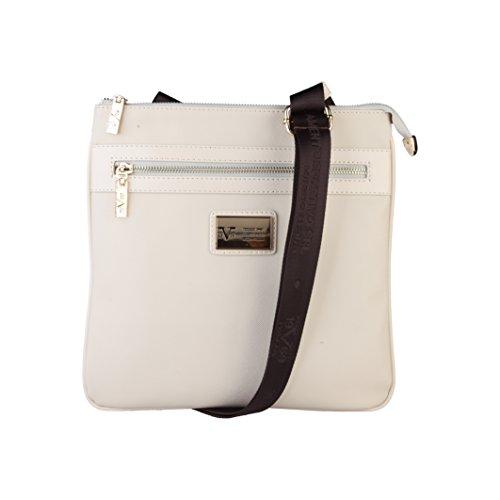 V 1969 - Sac porté épaule pour femme (5VXW84664_CREMA) - Blanc