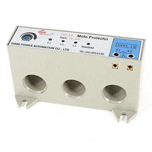 CDS-11 3 Phase 32-80 Ampere Adjustable Current Motor Circuit Protector