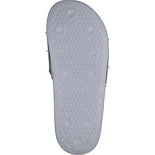 Mujer siebi's Baño fußbett Blanco Vicenza con de Zapatos Sandalias para wqTfwF8