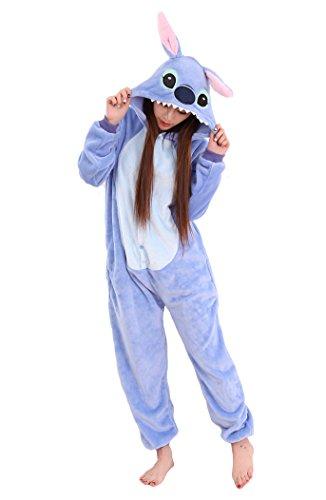 Unisex Adult Animal Oneise Kigurumi Pajamas Halloween Unicorn Cosplay Costume M (Matching Couple Outfits For Halloween)