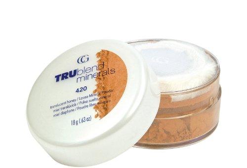 CoverGirl TruBlend poudre libre, naturellement lumineux, miel translucide 42, 0,63 oz