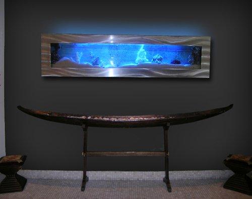 Amazon.com: Aussie Aquariums Wall Mounted Aquarium - Panoramic: Home &  Kitchen