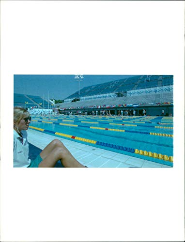 1992 Games Olympic (Vintage photo of Olympic games 1992 barcelona.)