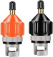 2 PCS Inflatable Boat SUP Pump Adaptor Air Pump Converter Air Valve Adapter Conventional Pumping Head Connecto