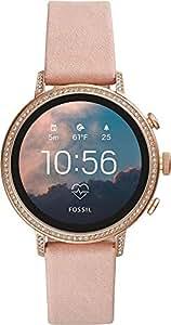 Fossil Women's FTW6015 Smart Digital Black Watch