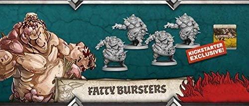 Zombicide Green Horde Kickstarter Exclusive Fatty Bursters x4