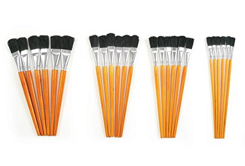 Colorations Short Handle Wooden Brushes product image