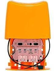 Amplificador De Mástil 3E/1S (UHF-Vhfmix-Fimix) con Filtro LTE 5G