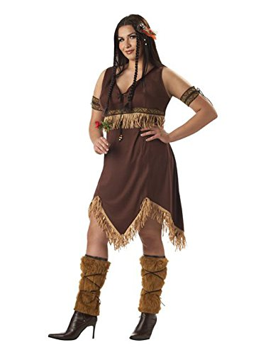 California Costumes womens Plus Size Indian Princess Costume 1X ()