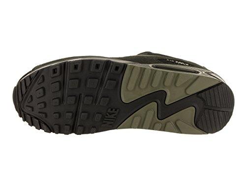Air 014 running de 90 Negro Leather Hombre Zapatillas Sequoia Nike Olive Max Medium Black pqd4pB