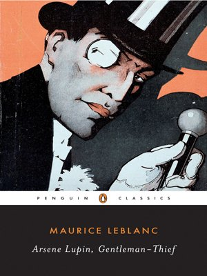 Book cover for Arsène Lupin, Gentleman Burglar