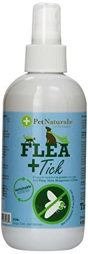 Pet Naturals of Vermont - Protect Flea & Tick Repellent Spray - 8 Oz ( Multi-Pack) by Pet Naturals