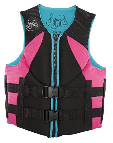 2014 Hyperlite Ladies Indy Wakeboard Vest - Pink Medium