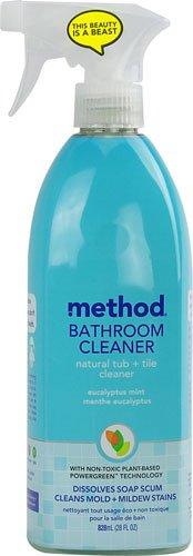 Method Bathroom Cleaner Natural Tub + Tile Cleaner Eucalyptu