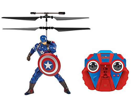 Marvel 2CH Captain America Marvel IR Helicopter